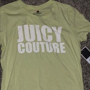 Small lime color juicy shirt